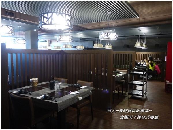 食觀天下複合式餐廳:<員林吃到飽>食觀天下複合式餐廳-2樓百匯吃到飽(中西日式料理)